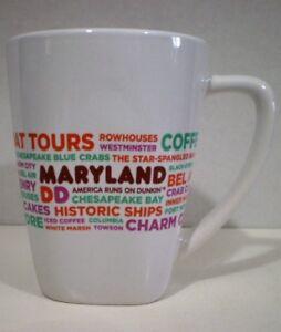 Dunkin' Donuts Mug Maryland 2016