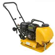 New 65hp Vibation Plate Compactor Walk Behind Tamper Rammer With Water Tank
