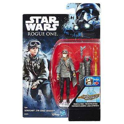 """eadu Gut FüR Antipyretika Und Hals-Schnuller Star Wars Rogue One Sergeant Jyn Erso 3.75"""" Figure By Hasbro b7275"""