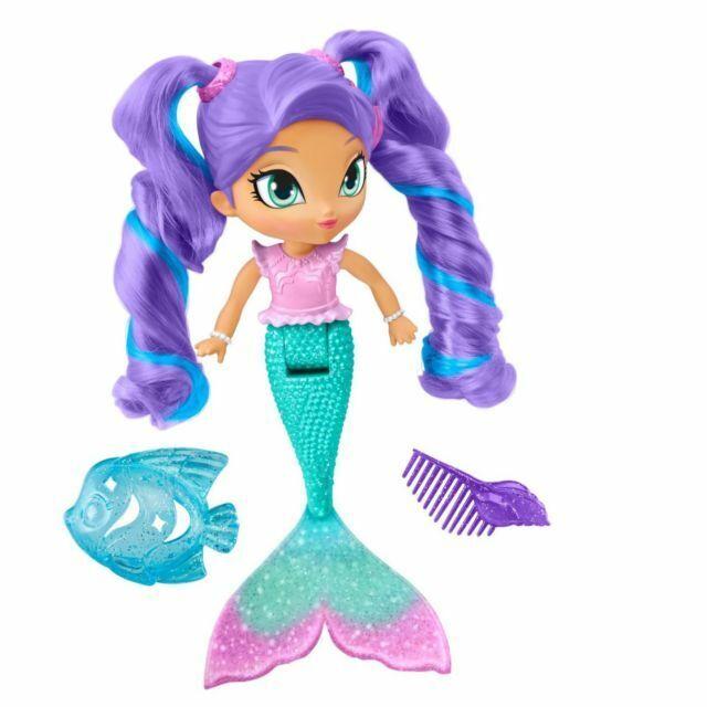 All Variations Xmas 2019 Shimmer and Shine 9 inch Bath Doll Mermaid Assortment