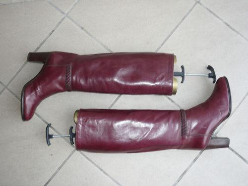 T Vintage 35 Burdeos Botas Farnesina 5 0gtBWq