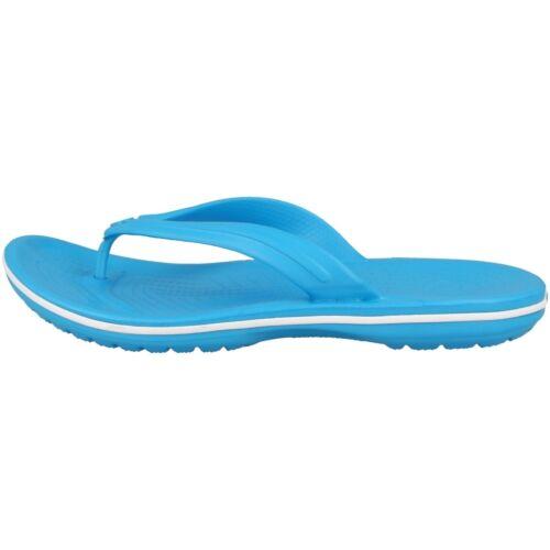 Crocs Crocband Flip Sandale Bride D/'Orteil Tongs Mules Blue 11033-404