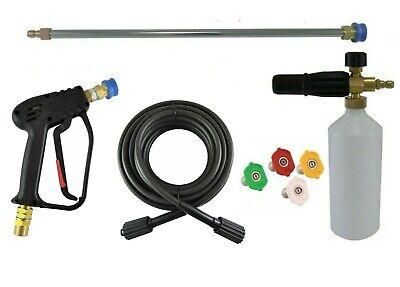 10m Hose Quick Release Gun Lance /& Foam Lance /& Wash Nozzles Nilfisk