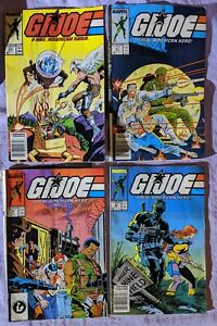 G-I-Joe-A-Real-American-Hero-Lot-Comics-59-61-62-63-Marvel-1980s-Readers