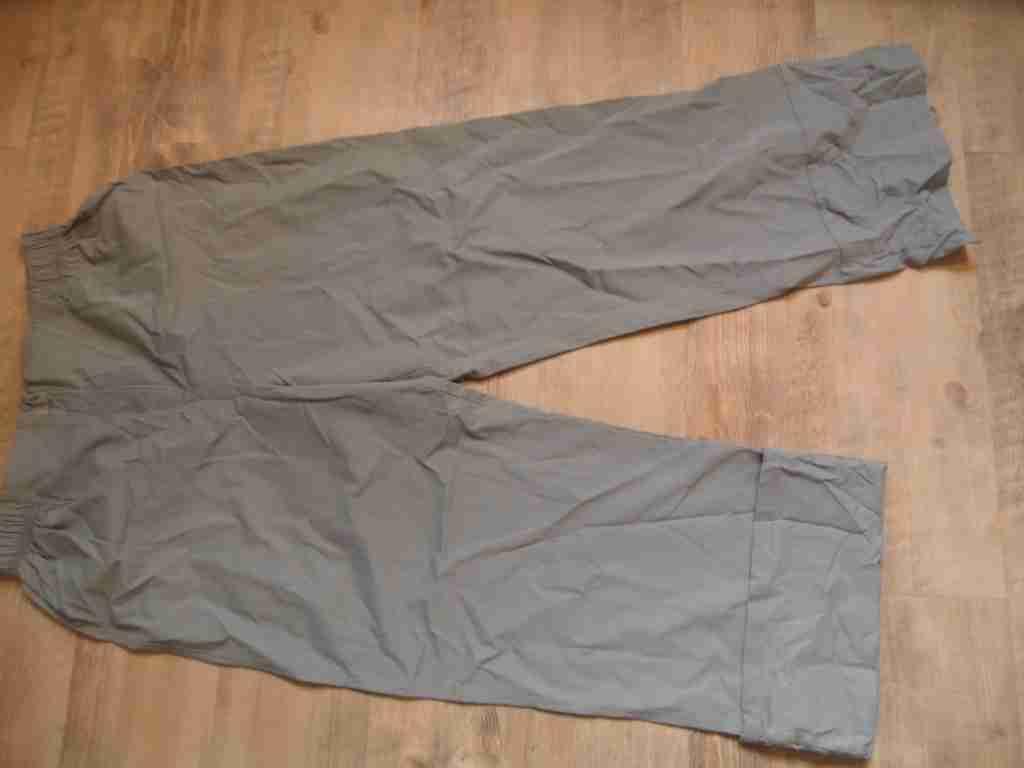 Absolut By Zebra Beautiful Slip Pants var. Leg Length grau Größe 3 NEW hmi117