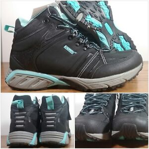 New Khombu Cascade Women S Hiking Boots Teal Amp Black
