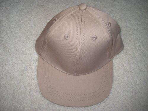 Infant Toddler Baseball Cap Caps 100/% Cotton Canvas Adjustable Strap Six Panel