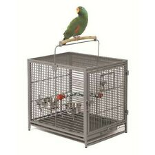 Bird Travel Carrier Cage Parrot Finch Cockatoo Sleeper Perch Feeders Lodging Pet