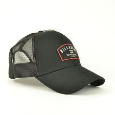 Billabong Men's Wharf Curved Peak Snapback Trucker Cap - SS17: Black