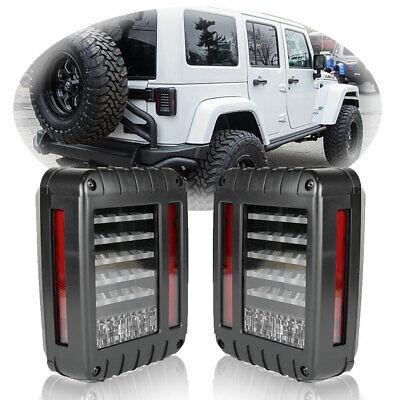 LED Tail Light Rear Turn Signal Reverse Brake Lamp for 2007-17 Jeep Wrangler JK