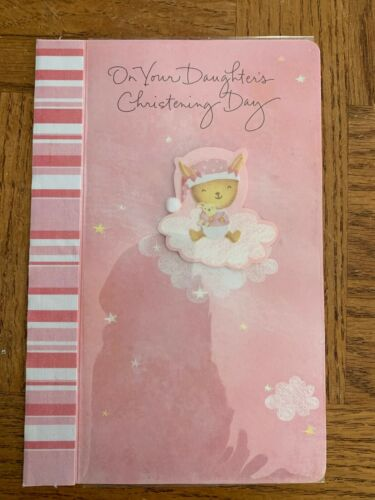 Details about  /Baby Girl Christening Greeting Card Box 3