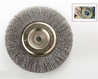 Strange 6 Steel Wire Wheel Brushes For Bench Grinder 5 8 1 2 Arbor 80119003734 Ebay Customarchery Wood Chair Design Ideas Customarcherynet