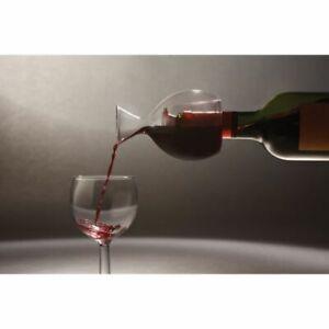 Piccolo decanter vino in vetro soffiato 004F
