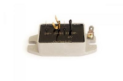 Einfach Elektronischer Regler, 6 Volt, Für Ural Dnepr K750 M72 (spannungsregler) Seien Sie In Geldangelegenheiten Schlau
