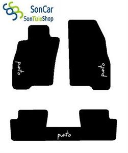 4blok+3decori MITSUBISHI GRANDIS 7 POSTI TAPPETI AUTO tappetini post.uniti