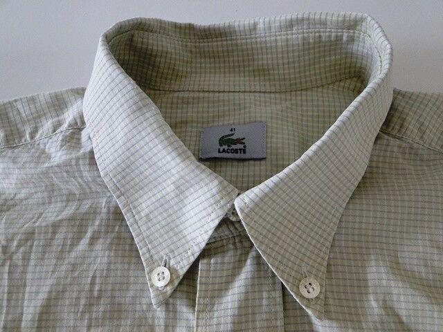 Lacoste Classic Herren Hemd Kurzarm Grün Weiß Kariert Baumwolle KW41    | Zu verkaufen  | Förderung  | Verschiedene aktuelle Designs