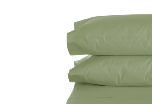 2 Standard // King Hypoallergenic Ultra Soft Bamboo Microfiber Pillowcase Set