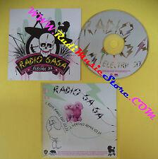 CD Singolo Electric Six Radio Ga Ga PRO15179 UK 2004 PROMO CARDSLEEVE no lp(S31)