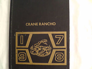 Yearbook Box #23 Crane School District No. 13, Yuma, Arizona 1978