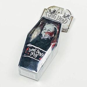 Living-Dead-Dolls-2003-Groom-Doom-6-034-Miniature-Doll-in-Coffin-by-Mezco-Toys