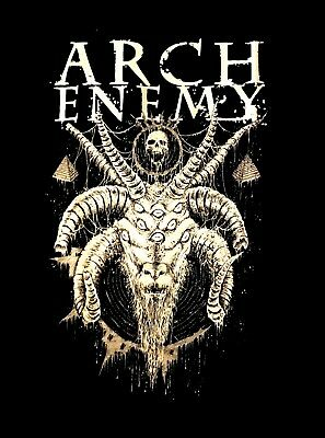 ARCH ENEMY cd lgo DO YOU SEE ME NOW? Official SHIRT LRG New war eternal