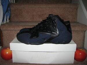 869762ae08e NIKE LEBRON XI EXT DENIM QS preheat easter christmas jeans south ...