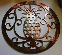 Ornamental Pineapple Metal Wall Art