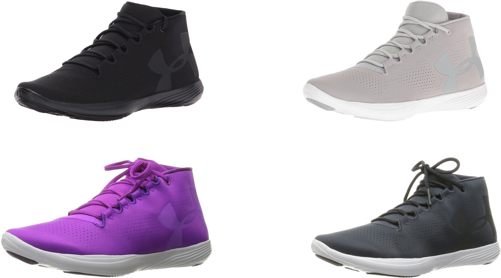 Under Armour Women's Street Precision Mid Shoes, 4 Colors