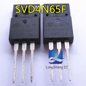 10-PCS-SVD4N65F-TO-220F-NEW