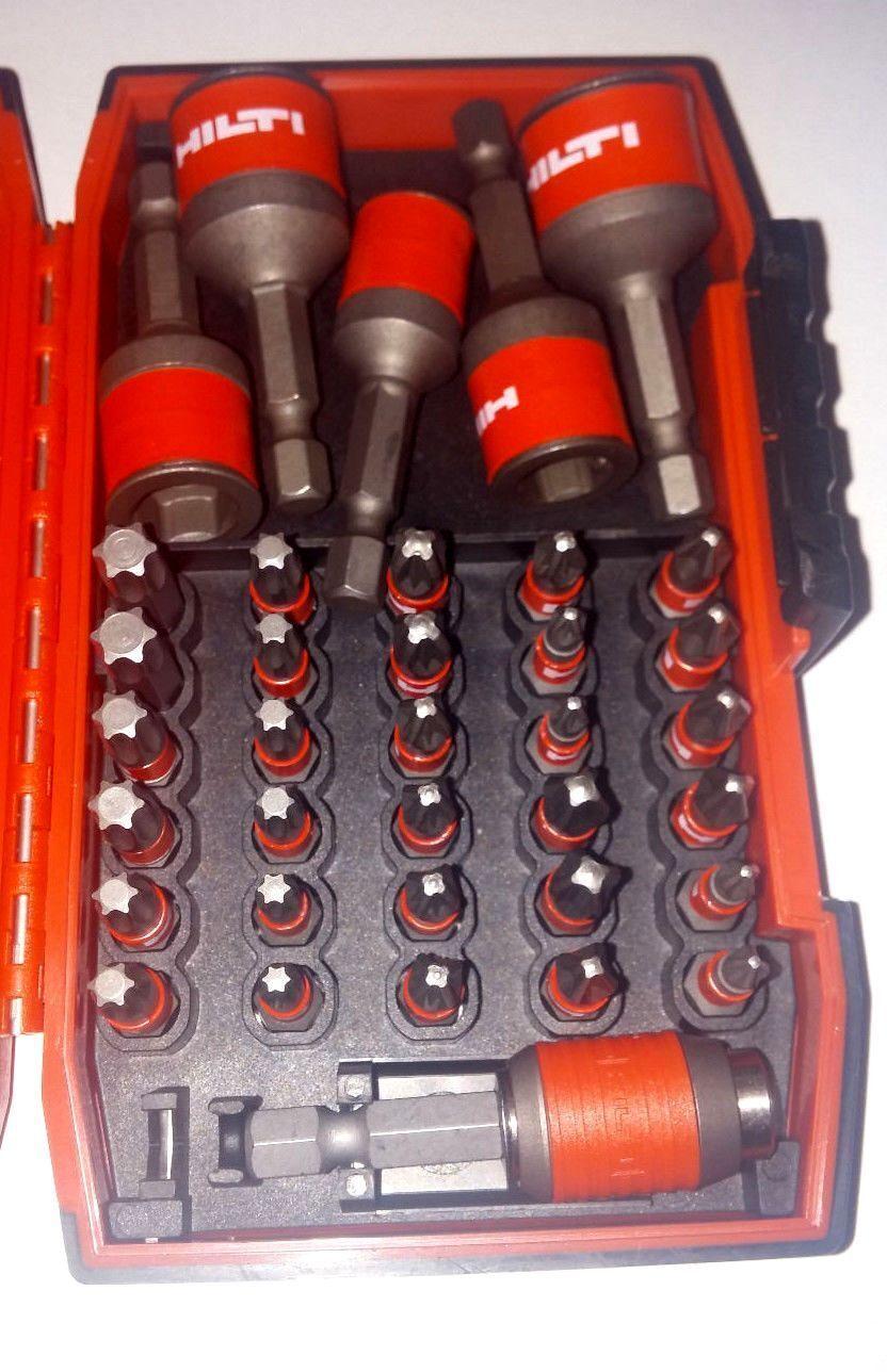HILTI Bit Set  Satz, Pro+ Steel, Boite d'embout S-BSP+ 25 1  (35) acier