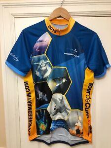 Lockheed-Martin-Men-s-Tour-de-Cure-Cycling-Jersey-Size-Large-L
