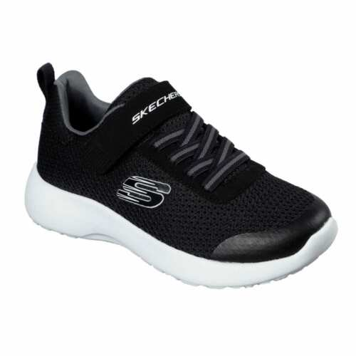 Kids Skechers Dynamite Ultra Torque Childs Trainers Runners Mesh Upper New
