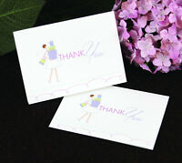 Bride With Gifts Bridal Shower Thank You Notes 25/pk