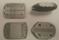 NEW SKI BOOT REPLACEMENT SOLES TOES & HEELS SPARE PARTS TACCO PUNTA BABY SILVER