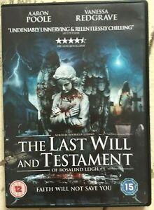 Last-Volonta-e-Testament-DVD-2012-Horror-Thriller-con-Vanessa-Redgrave