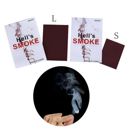 Zauberartikel & -tricks 1xclose-up magic change gimmick finger smoke hell's smoke fantasy trick prop  AB