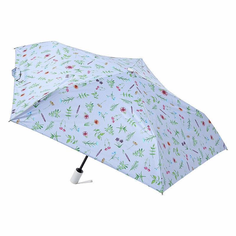 Japan estaa 200g Lightweight UV-Proof Automatic Umbrella HERBAL PURPLE w/ Case