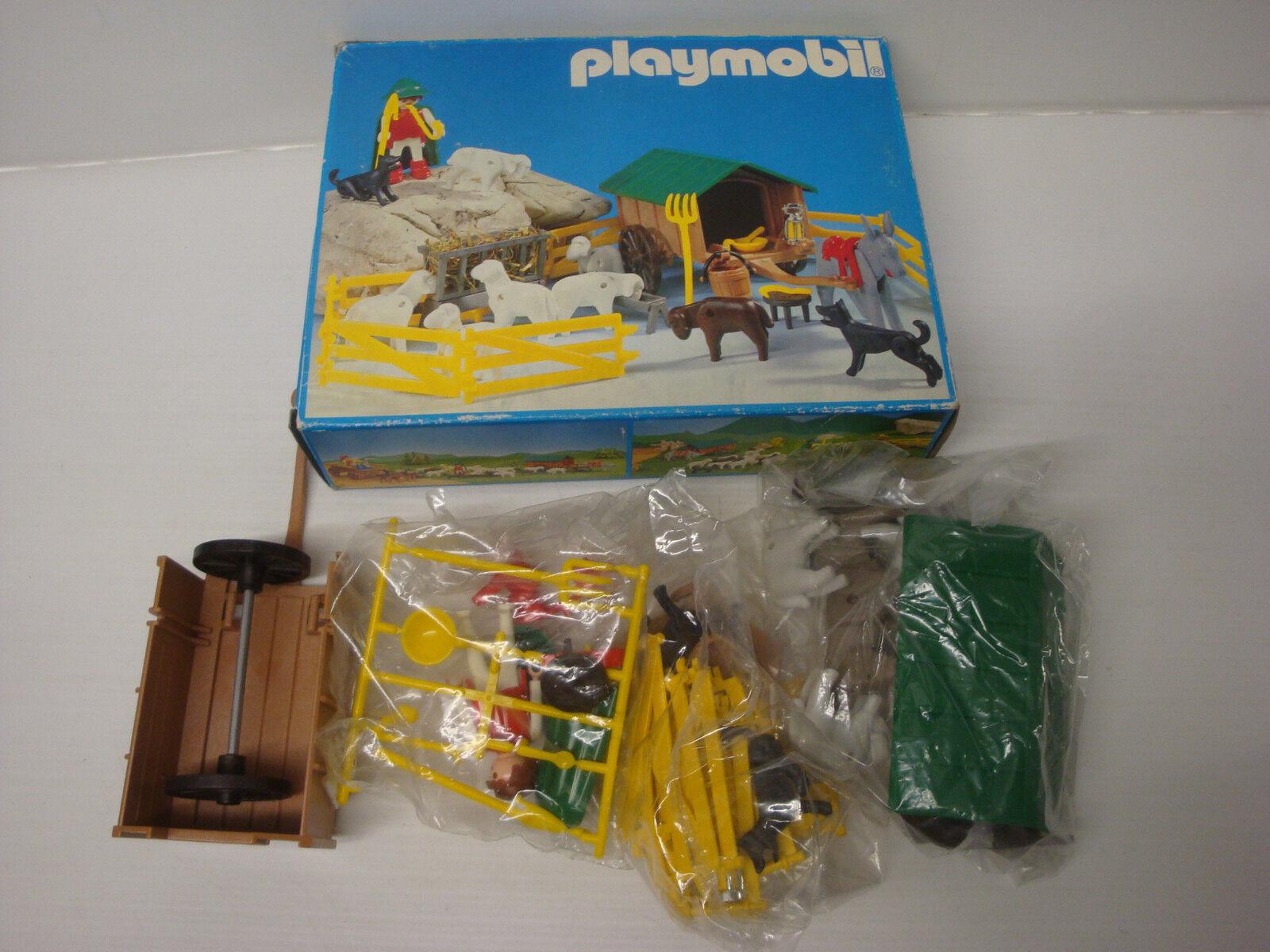 Playmobil ancien état neuf en boite boite boite sachet scellé - set berger & moutons 3412 27c755