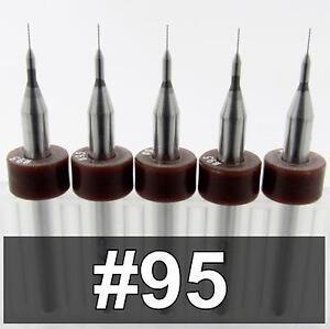 ".0135/"" CNC PCB Models,Jewelry Sharp! TEN PIECES 0.350mm Carbide Drill Bits"