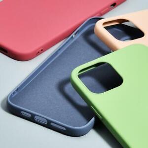 For-iPhone-12-mini-12-Pro-Max-11-XS-XR-8-7-Plus-Liquid-Silicone-Soft-Case-Cover