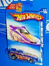 Hot Wheels 2010 Ford Mustang Funny Car HW Racing 10//10 PURPLE #158