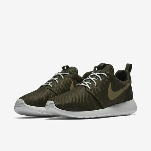 NIKE ROSHE ONE LOW RUNNING SNEAKERS MEN SHOES OLIVE 511881-306 SIZE 10.5 NEW