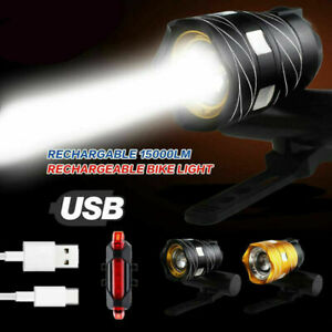 15000LM-avant-eclairage-arriere-ensemble-velo-LED-lampe-phare-USB-rechargeable