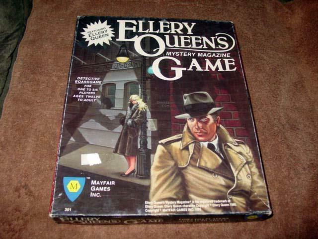 Mayfair Games - Ellery Queen's Mystery Magazine Game - Detective Boardgame