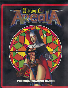 Areala-Warrior-Nun-Collection-Binder-Complete-Set-Chase-Set-2-Premium-Comics
