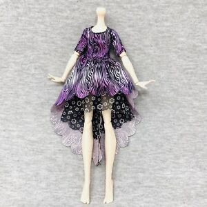 Ever After High Spring Unsprung Holly O/' Hair Replacement Shoulder Piece Purple