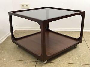 60er-70er-Jahre-Tisch-Coffee-Table-Couchtisch-Glasplatte-Wilhelm-Renz-60s-70s