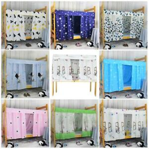 Fine Blackout Fabric Single Bunk Bed Tent Curtain Cloth Dustproof