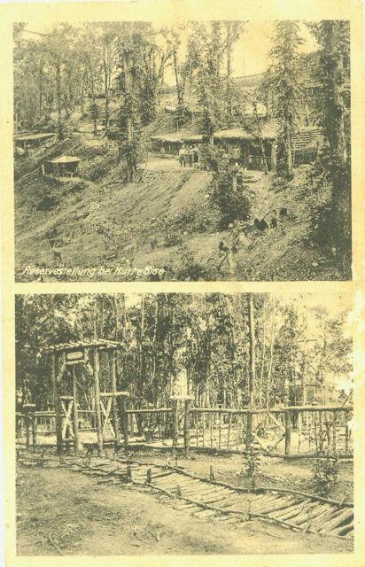 Alte Ansichtskarte Postkarte Reservestellung bei Hurrebise 1916