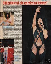 Coupure de presse Clipping 1991 Cher  (1 page)